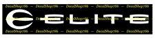 Elite Archery - Outdoor Sports / Bow Hunting - Vinyl Die-Cut Peel N' Stick Decal