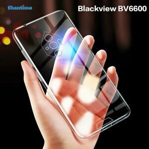 For Blackview BV6600 Case Ultra Thin Clear Soft TPU Cover Shockproof Silicone