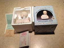 Precious Moments Following Jesus 1986 Members Only PM862 Original Box FUNDRAISER