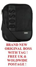ORIGINAL HUGO BOSS PRODUCT BRAND NEW WITH TAG CROSS BODY MESSENGER BAG BLACK
