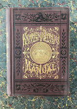 1886 Knights of Pythias Fraternal Supreme Lodge Secret Society Freemasonry Rare