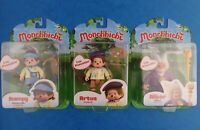 "Unopened MONCHHICHI FIGURE 3"" Poseable Toy - Choose Your Character!"