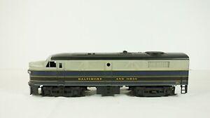 Weaver O Scale 2 Rail Baltimore & Ohio B&O FA-2 Diesel Engine Road # 838 W20