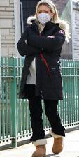 Canada Goose $1150 Women's Trillium Parka Winter Jacket 2Xs Black Coat Fur Down