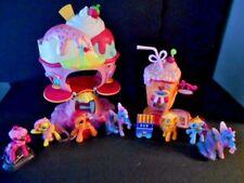 My Little Pony Playsets Sweet Sundae Ice Cream Shop and Shake Shop Drive Thru