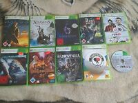 XBOX 360 PAL Game LOT x10 Halo 3 Assassins Creed 3 Resident Evil 6 Fifa 14 *Used