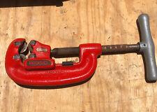 RIDGID 32870 Model 42-A Heavy-Duty 4-Wheel Pipe Cutter, 3/4-inch to 2-inch Steel