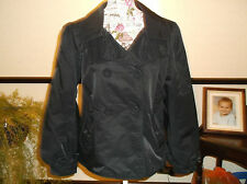 LADIES LOVELY  FULLY LINED JACKET.BLACK SIZE MED see discription