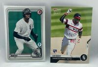 Luis Robert 2020 Bowman 1st Edition #150  Topps Now 1st HR #20 WHITE SOX