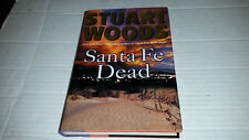 Santa Fe Dead by Stuart Woods (2008, Hardcover) FIRST PRINT