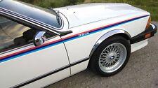 BMW 6 series  E24  MOTORSPORT TRI COLOUR SIDE STRIPES DECALS
