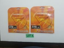 Tecnifibre 515 Tennis string lot 2 original made in France 16 gauge 39ft 1.32m K