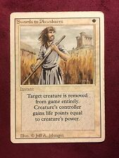 Revised Edition   Swords to Plowshares   MTG PLAYED (see scan)