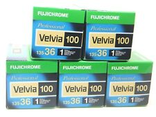 5 x FUJICHROME VELVIA 100 35mm 36 EXP CHEAP SLIDE FILM by 1st CLASS ROYAL MAIL