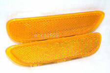 Front Bumper Mounted Side Marker Lamp Reflector One Pair for 2000 BMW 323i 328i