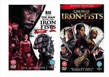 The Man With The Iron Fists 1 And 2 Martial Arts Action Adventure DVD Bundle