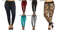 Plus Size Assorted Colors Leggings Footless Pants  XL 2XL 3XL Animal Print