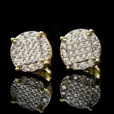 1.50ct Round Diamond 14k White Gold Stud Earrings