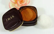 IMAN Luxury Loose Powder Clay Medium .7 oz Oil Free Sheer Matte Finish No Shine