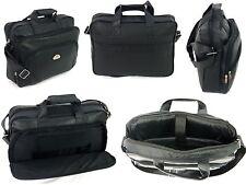 Mens Black Laptop Bag Business Briefcase Messenger Satchel Work Office Bag