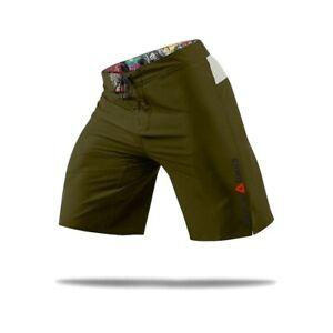 Reebok CrossFit Men's Olive Green Bonded Gusset Core ii Training Shorts Z90413