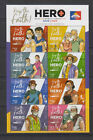 Philippine Stamps 2021 Be A Hero, Get Vaccinated Campaign, Complete set,MNH