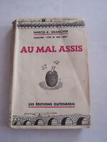 ROMAN , COLLECTION LYON DE MON COEUR PAR M E  . GRANCHER , AU MAL ASSIS .