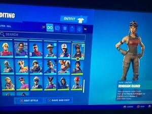 Renegade Raider purple skull rare og