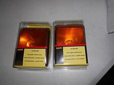 Bargman 31-86-104 Pair of Trailer Lights Clam Shell Packed Amber Turn *NEW*