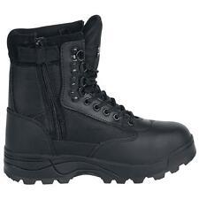 Brandit Botas Militares Botas Hombre Mujer Militar Montaña Tactical Zipper Boots
