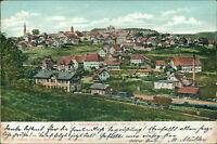 Ansichtskarte St. Georgen Schwarzwald wohl Bahnhof ? 1904  (Nr.9636)