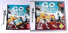 "Nintendo DS JEU ""aventure avec Lucky Luke Go west!"" allemand/COMPLET"