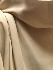 20 Metre Roll Designer Curtain Fabric Tweed Cotton Linen Laura Ashley Creamware