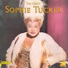 SOPHIE TUCKER - THE GREAT 2 CD NEUF
