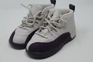 NIKE Air Jordan Retro XII 12 Desert Sand Purple (TD) Shoes 819666-001 10c