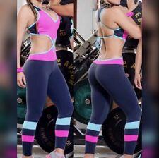 Colombian Brasiliano Donna Tuta Enterizo Microfibra S M L Gym Allenamento Yoga