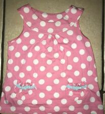 TU Nautical Spotted Bow Top - 12-18 Months