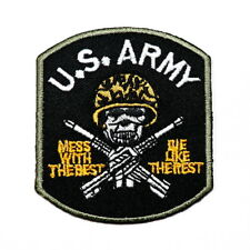 WW2 U.S. ARMY Solider Military USAF SEAL DIY Clothes Jacket Elbow Iron on Patch