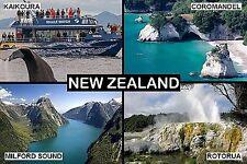 SOUVENIR FRIDGE MAGNET of NEW ZEALAND