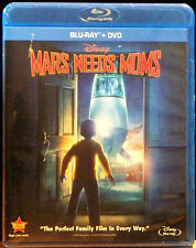 Mars Needs Moms (Blu-ray/DVD, 2011, 2-Disc Set) DVD & Blu-ray