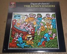 THE KING'S SINGERS - Sing We & Chant It ! - Angel DS-37891 SEALED