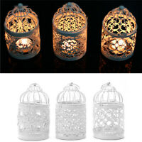 Metal Moroccan Birdcage Votive Candle Holder Hanging Lantern Wedding Decor Home