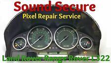 Land / Range Rover L322 Speedo Instruments Clock Cluster Pixel Repair Service