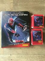 MARVEL 2012 THE AMAZING SPIDER-MAN STICKER BOOKS x11 x63 PACKS STICKERS PANINI
