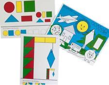 Logi Shapes Pattern Cards Colours Maths Reasoning Logical Thinking Skills Age 3+