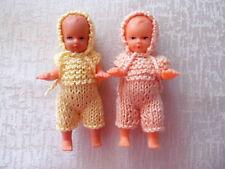 2  Püppchen/Zwillinge - Puppenstube/Puppenhaus