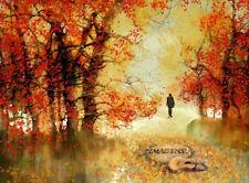 """BEATLES Strawberry Fields New York John LENNON Rock music Painting 16""""x20"""" Art"""