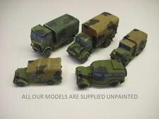 wargames vehicles. 'Dunkirk' B.E.F.pack WW2 Brit truck kits.1/72 20mm (013)