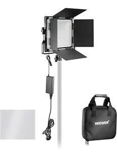 2 Neewer Professional Metal Bi-color LED lights