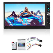 7'' Car Radio MP5 EQ eEfects 2 Din HD Bluetooth Stereo USB Head Unit Mirror Link